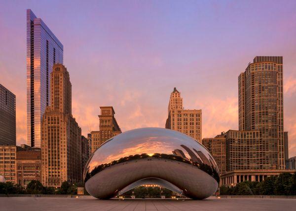 Chicago Bean Millennium Park