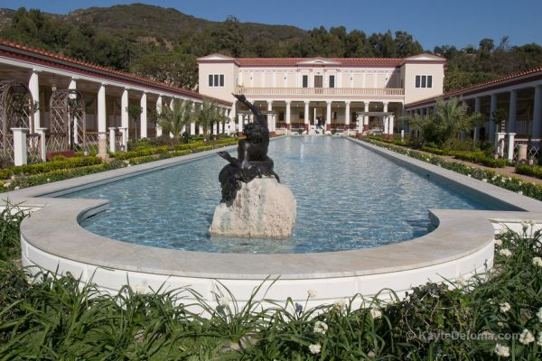 J. Paul Getty the Villa at the Getty Museum