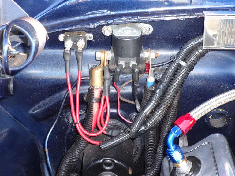 67 Mustang Alternator Wiring Diagram Classic Car No Crank No Start