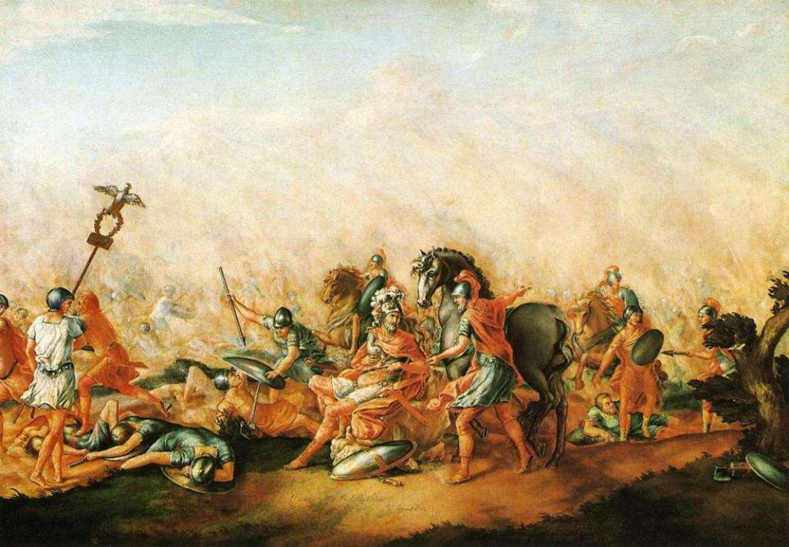 Battle Of Cannae In The Second Punic War