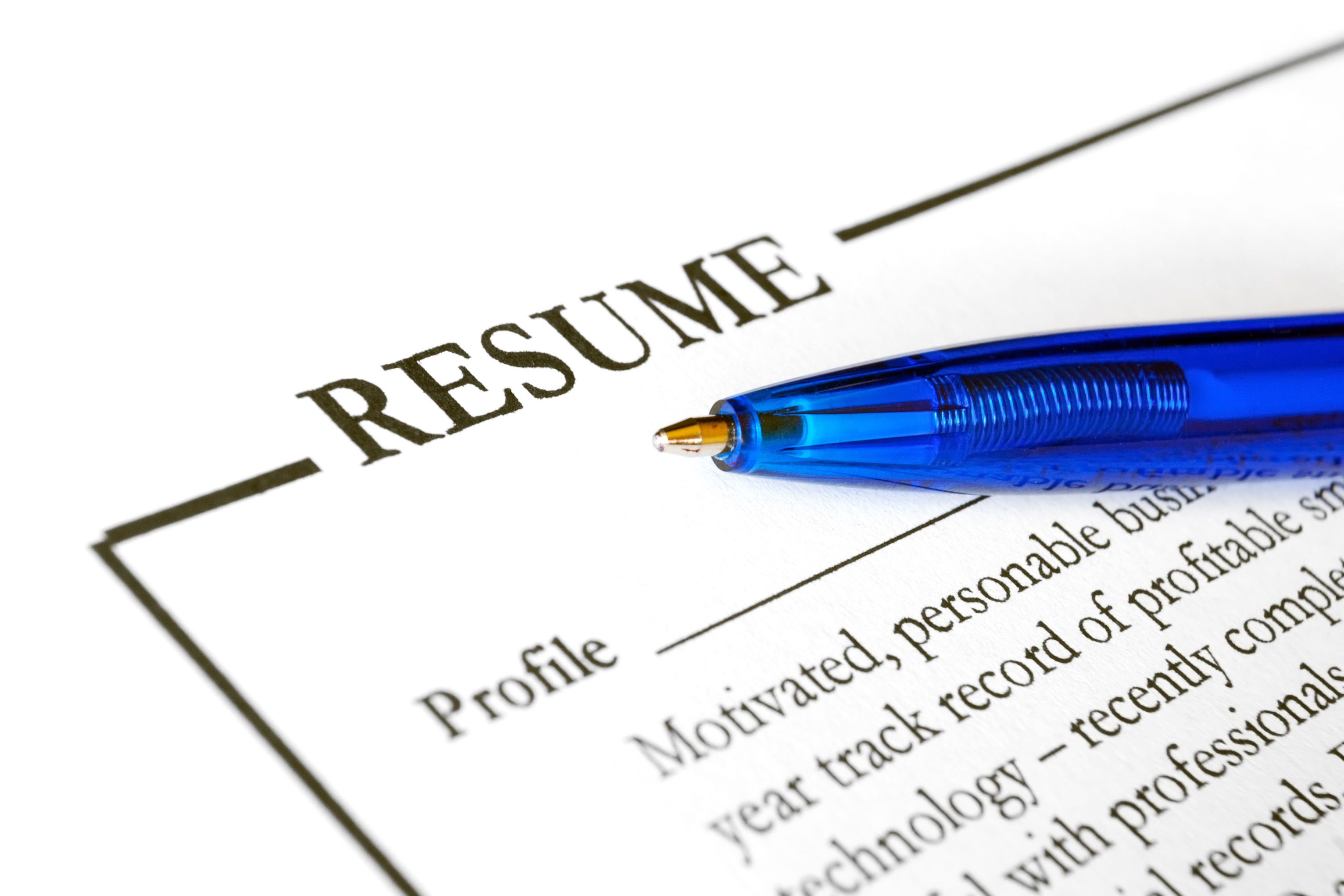 short resume profile examples