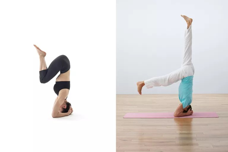 2 Ways to Get Into a Yoga Headstand