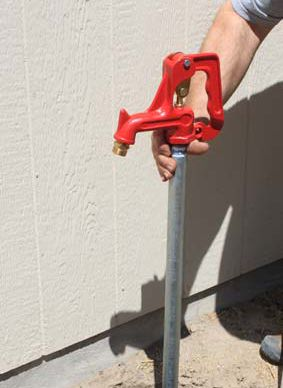 How to Replace a FrostProof Yard Hydrant