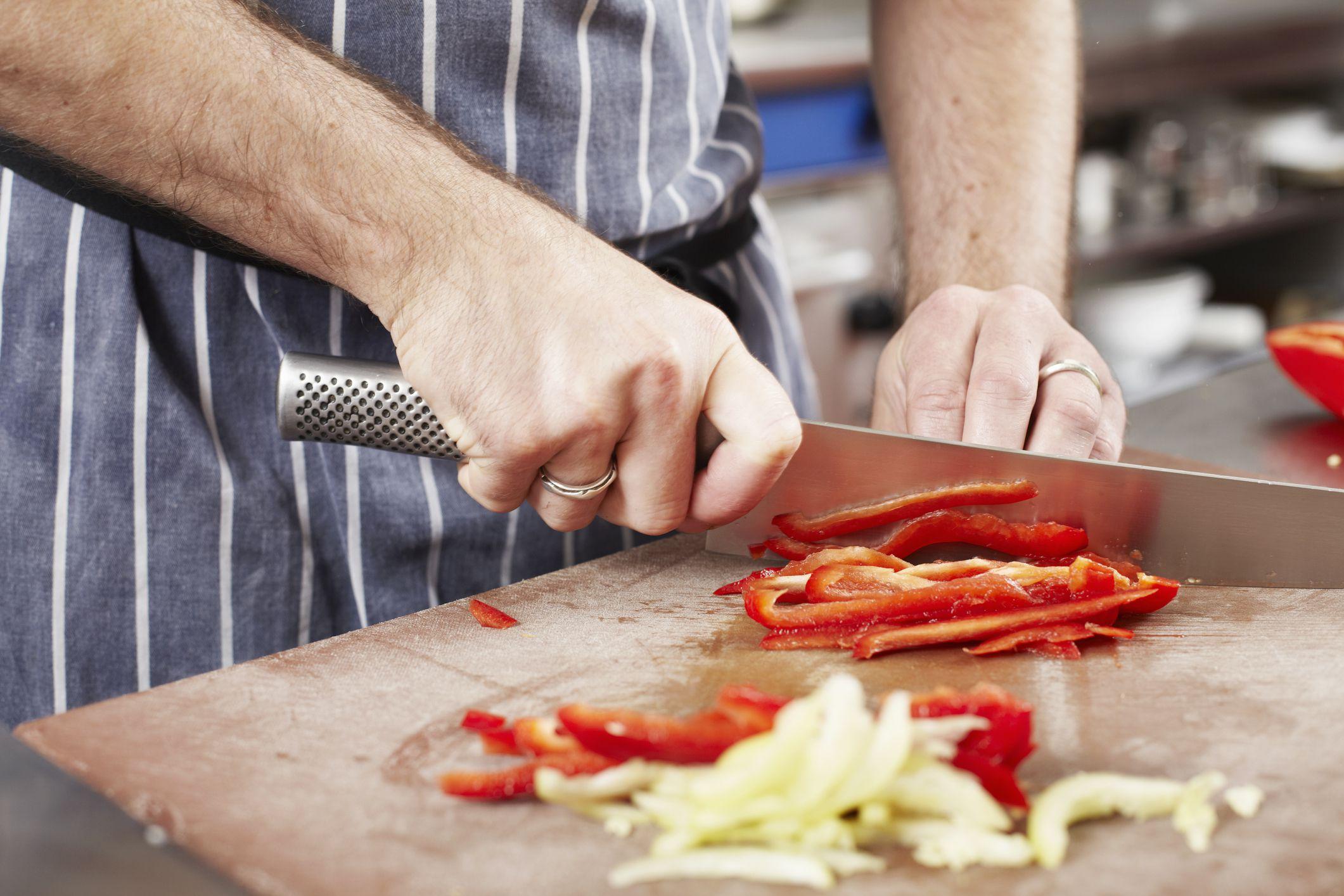 Fine Brunoise Basic Knife Cuts