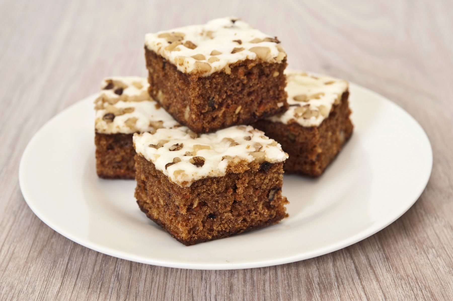 OneLayer Frosted Carrot Cake Recipe