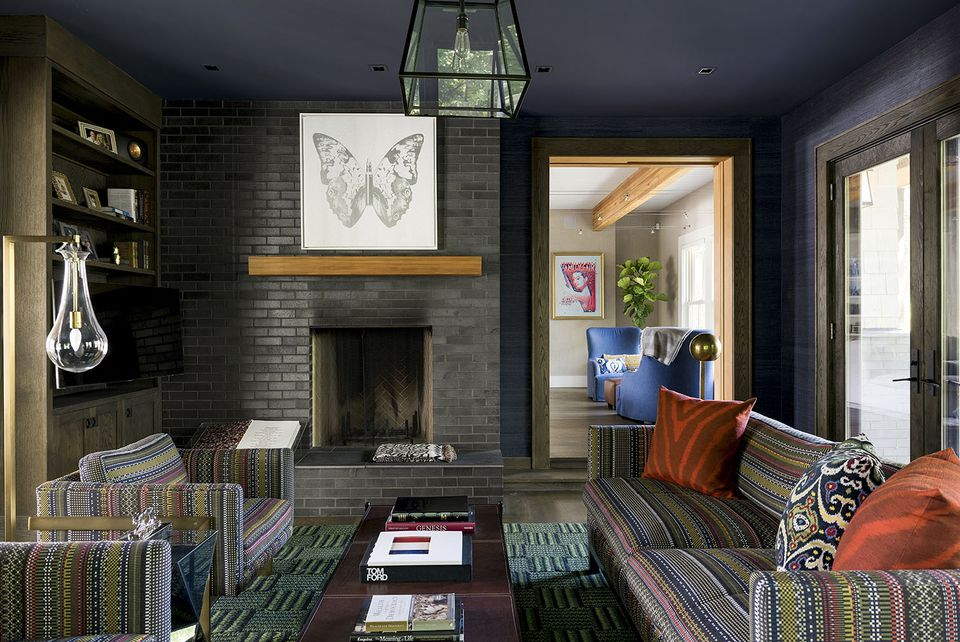 Painted Brick Fireplaces Painting Brick Fireplaces Brick 32 Ways To Refresh A Brick Fireplace
