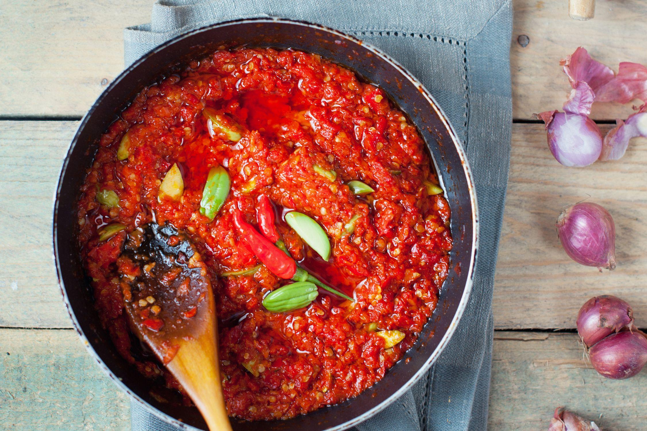 kitchen games cooking drawer malaysian sambal sauce recipe