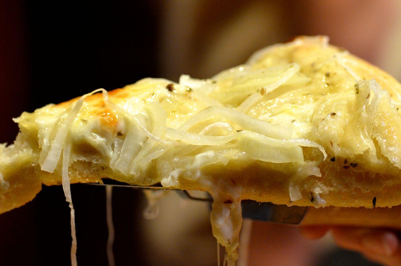 Fugazza an Argentinianstyle Onion Pizza