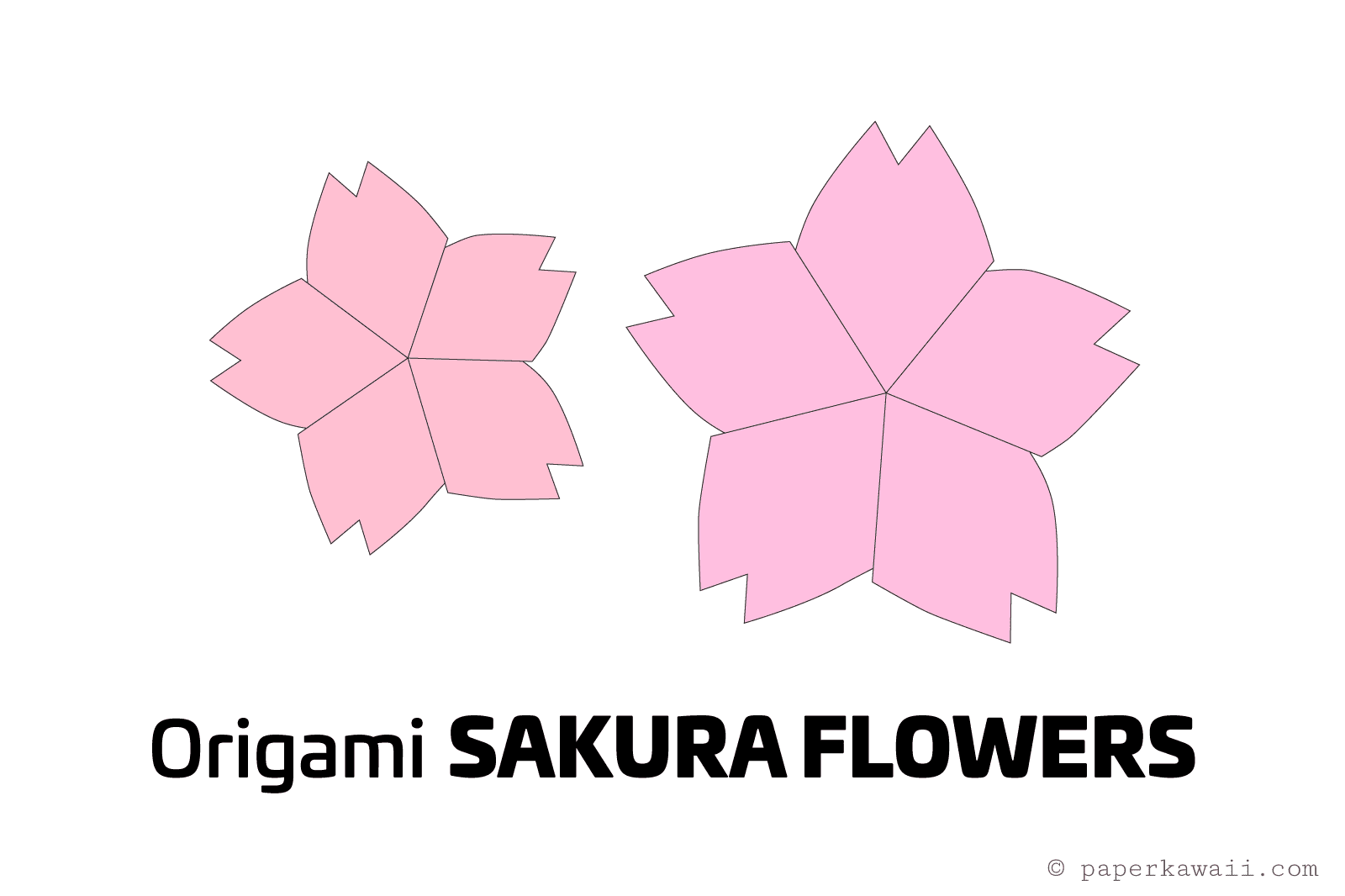 diagram the parts of cherry blossom tree cat 5 wiring straight through origami tutorial