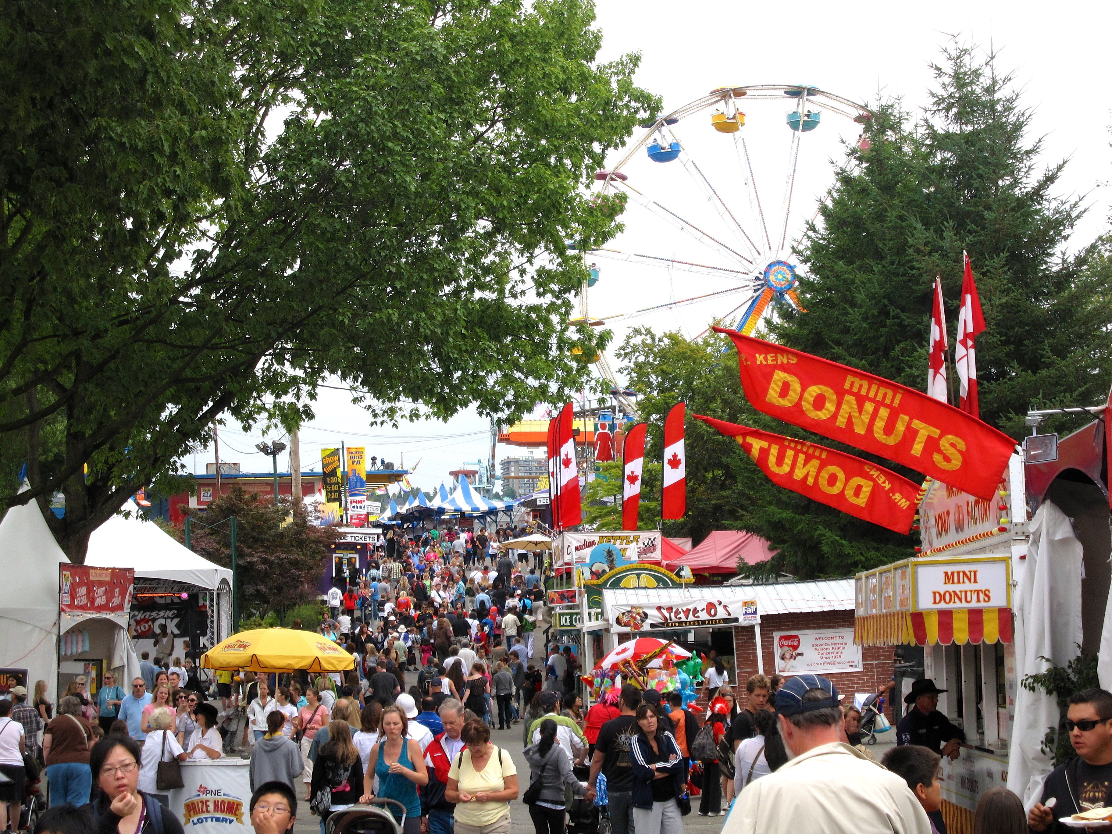Guide To The Fair At The Pne In Vancouver Bc