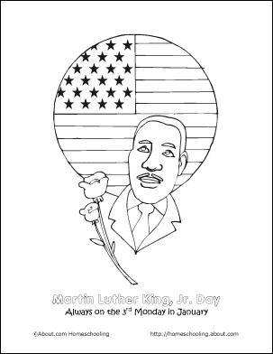 8 Printout Activities for Martin Luther King Day