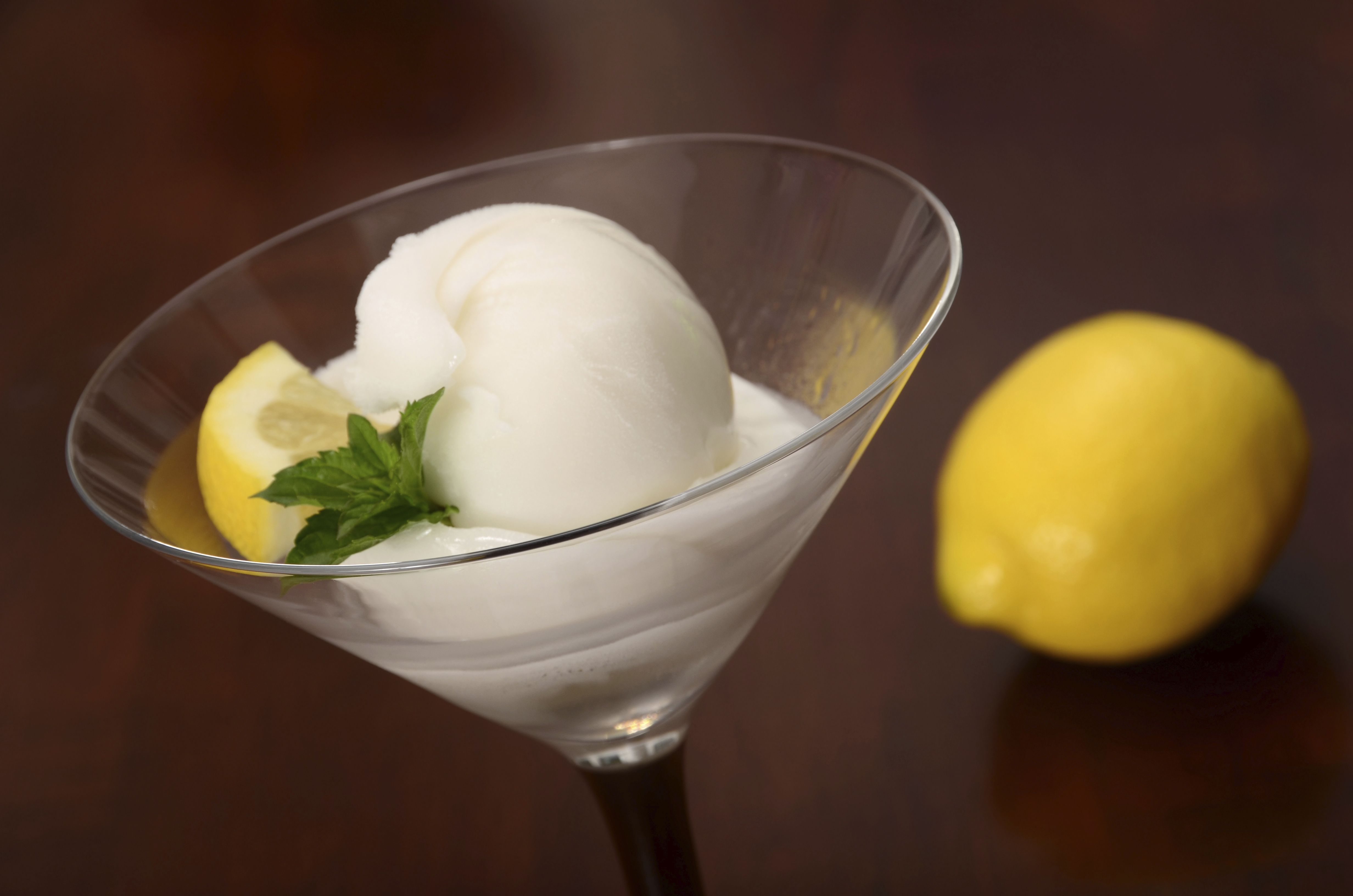 Vodka Lemon Sorbet Frozen Cocktail Recipe