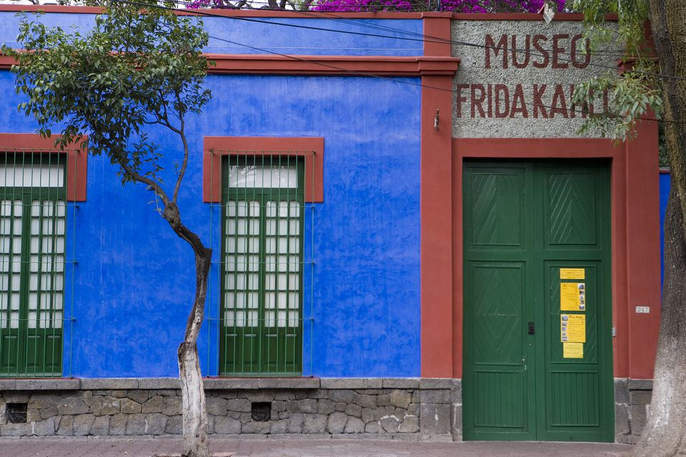 Kahlo Mexico House City Frida