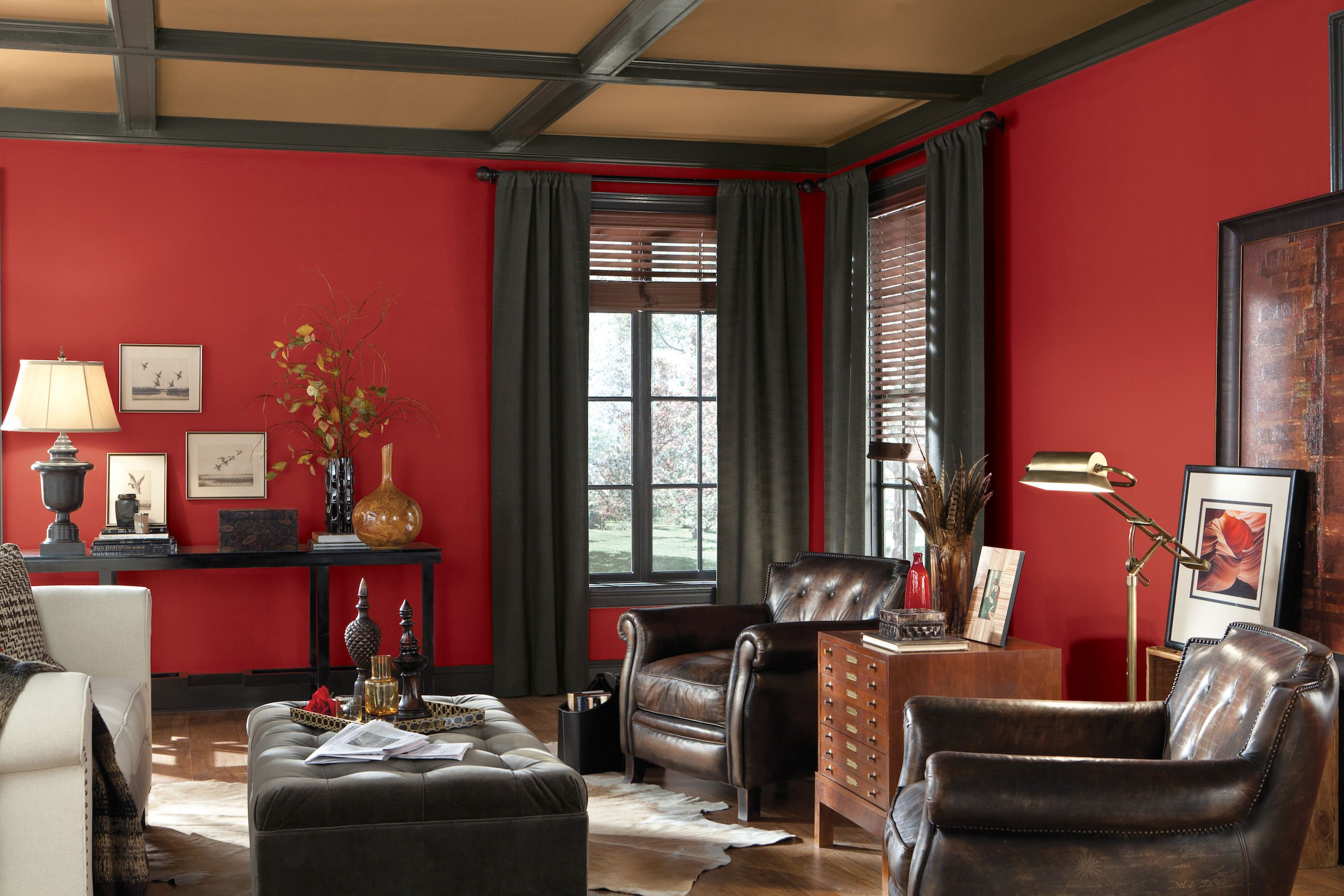Fall Colored Background Wallpaper See The Hottest Red Paint Colors