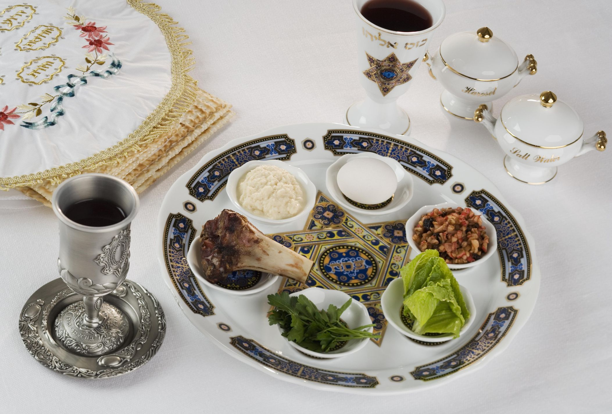 Traditional Passover Foods For The Seder Meal