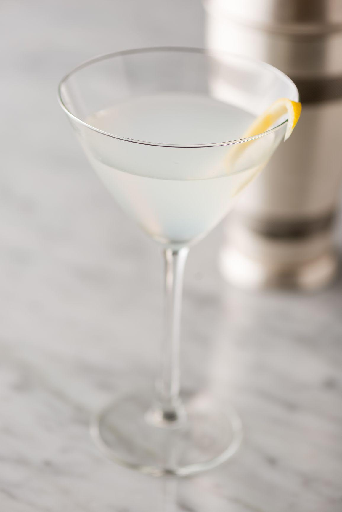 Show Off Your Best Vodka in the Clean Crisp Vodka Martini