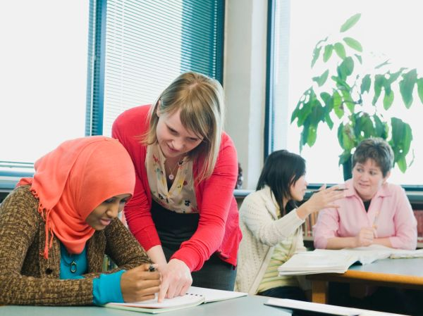 Adult English Learning Students