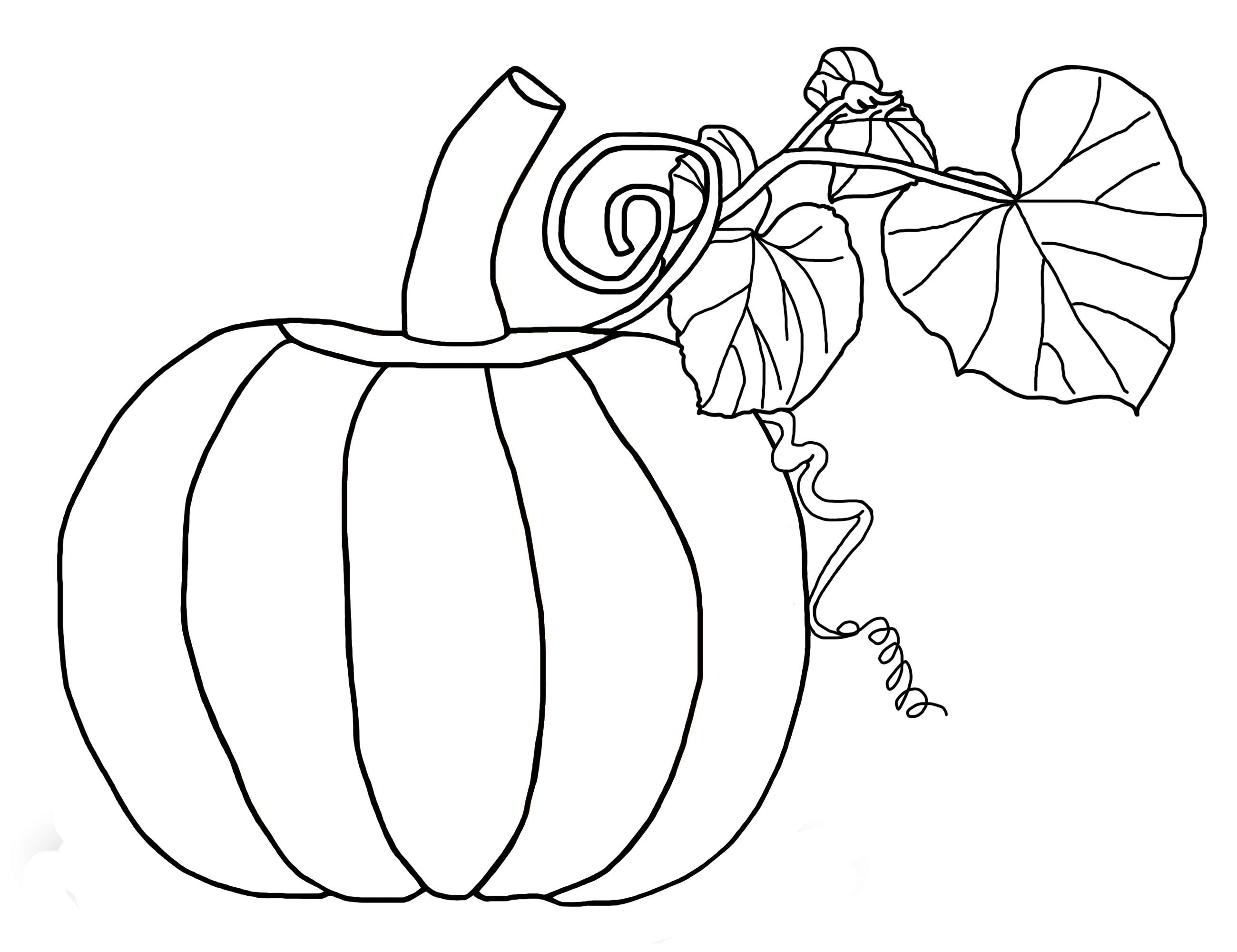 5 Little Pumpkins Sitting On A Gate Coloring Page
