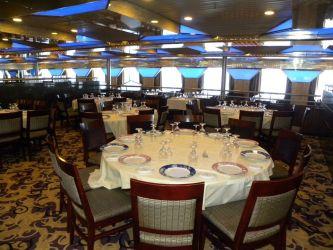 carnival fantasy cruise ship dining interiors deck rooms garrison linda