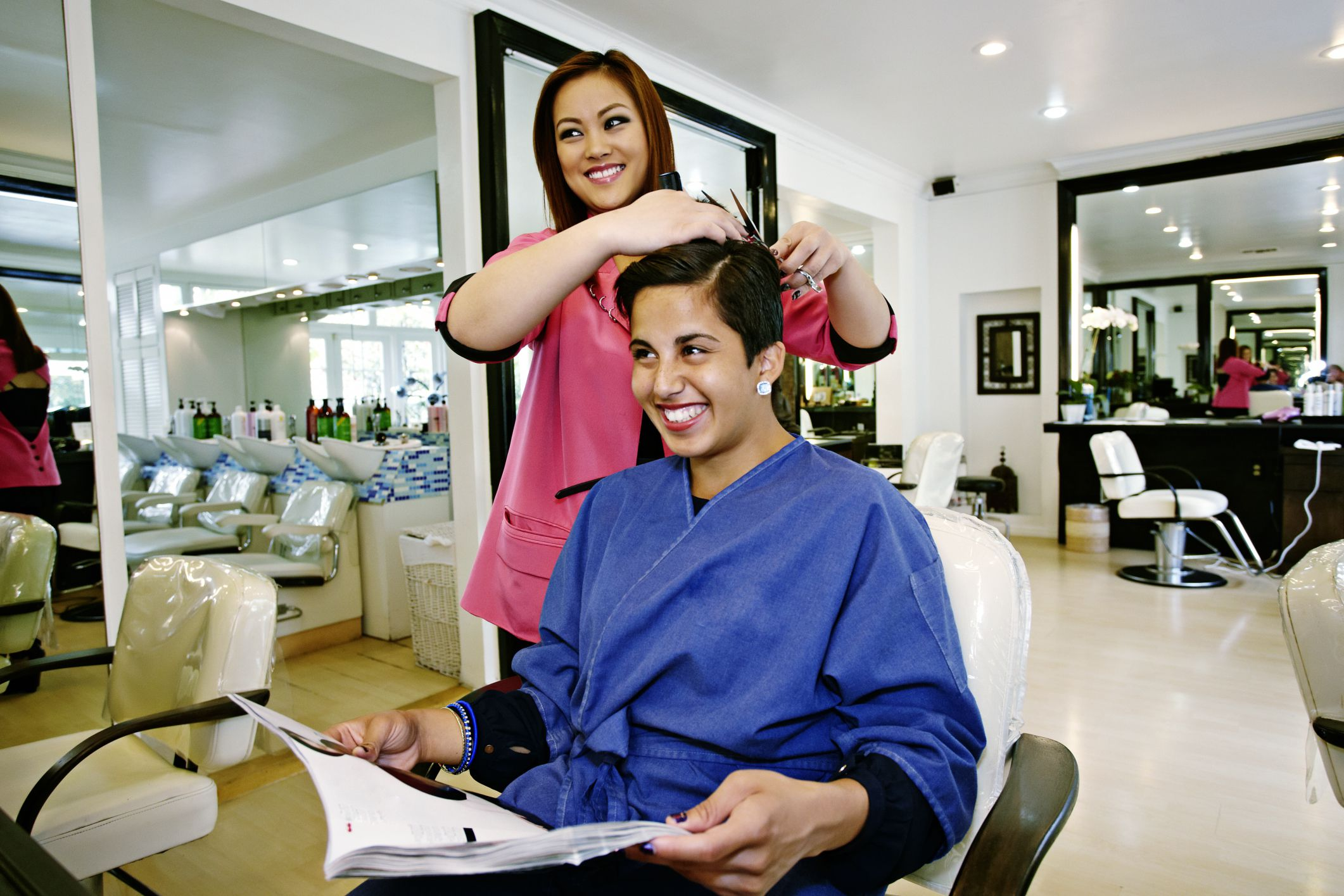 How To Get A Job As A Hair Stylist