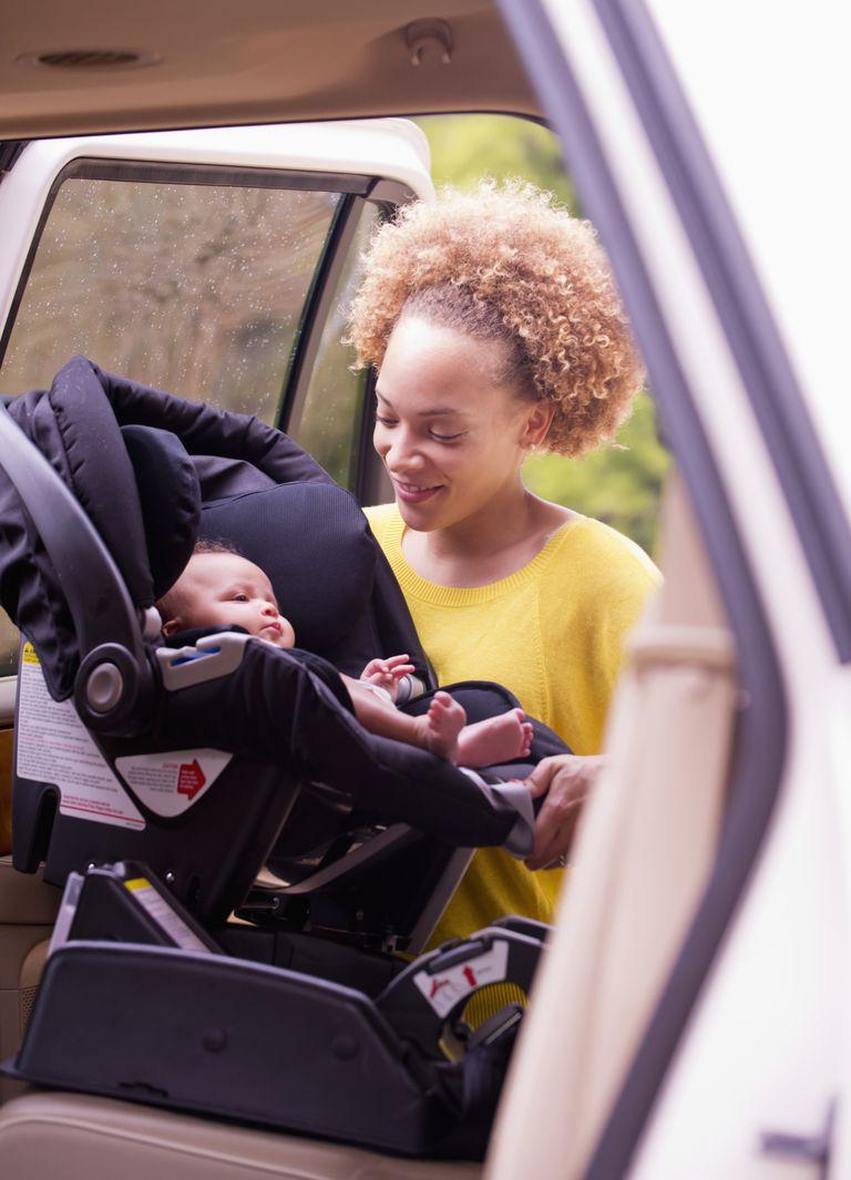 Cmo instalar la silla de auto para beb recin nacido