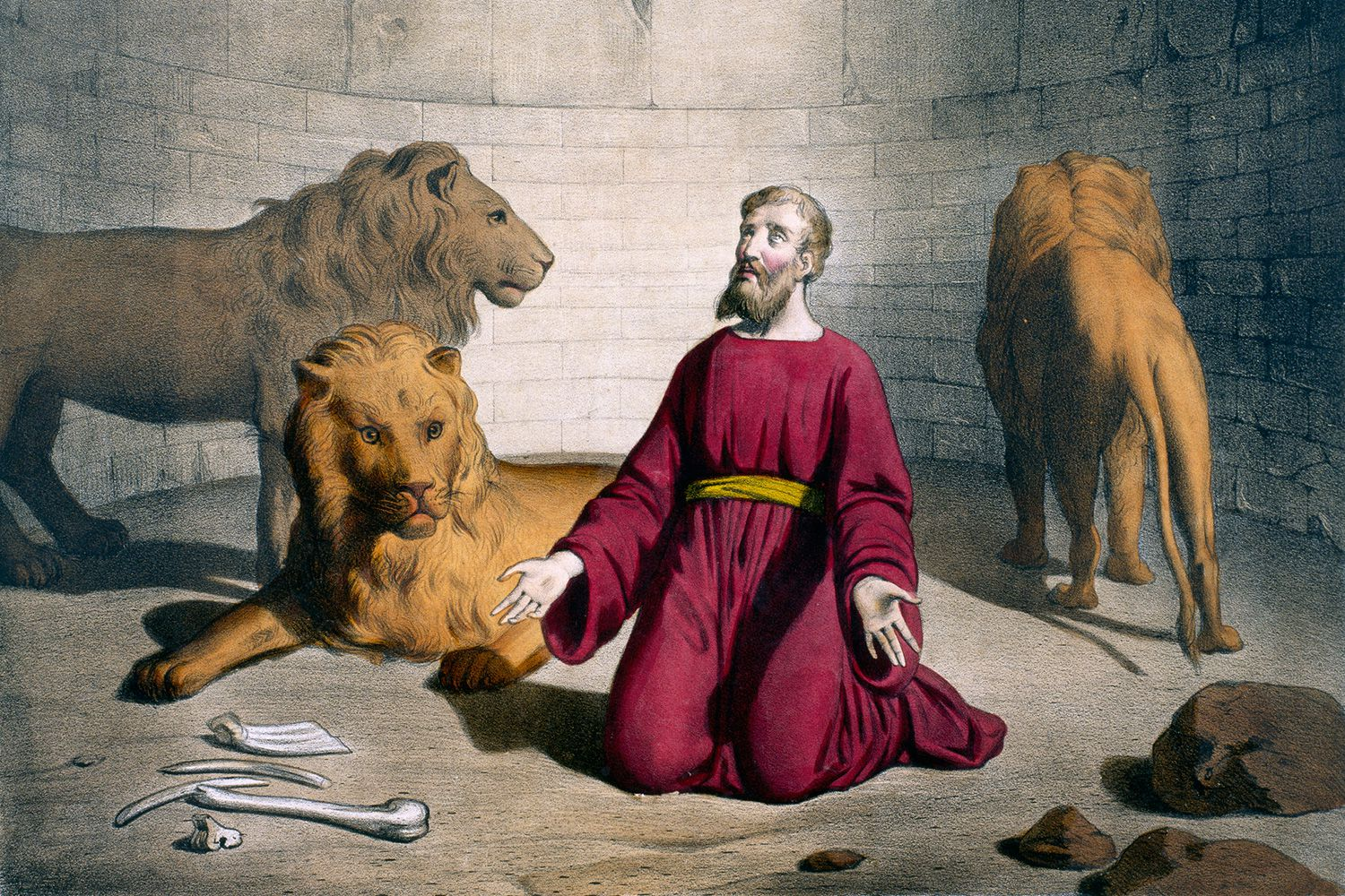 Daniel In The Lions Den Bible Story And Lessons