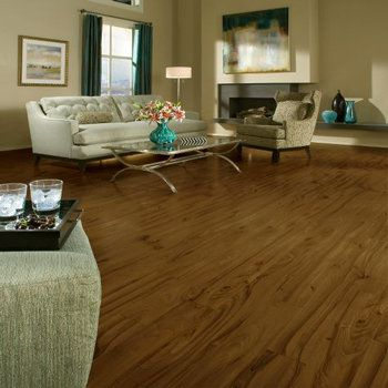 Laminate Flooring In a MultiColored Living Room Decor