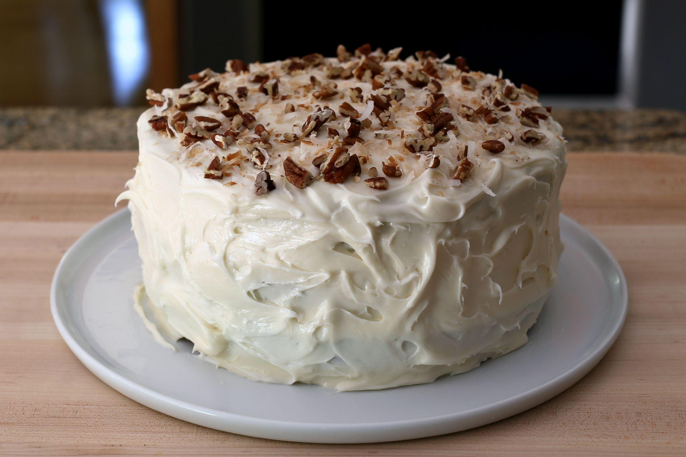 Classic Italian Cream Cake Recipe