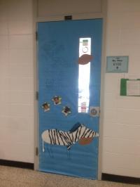 Patriot Press : Homecoming Door Decorating Contest