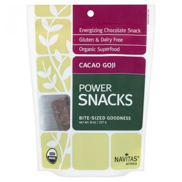 FURTHER REDUCTION Navitas Naturals Cacao Goji Powersnacks