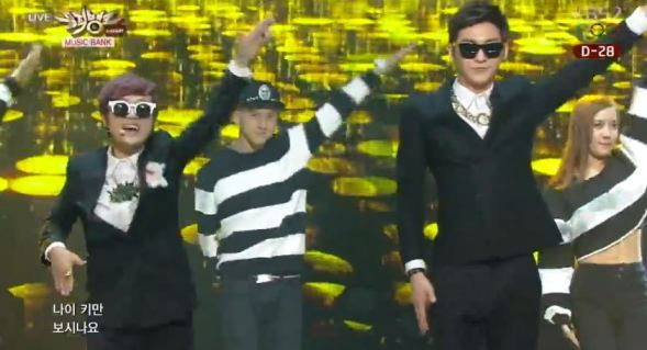 Video debut stage Age-Height TwoSong Place Music Bank