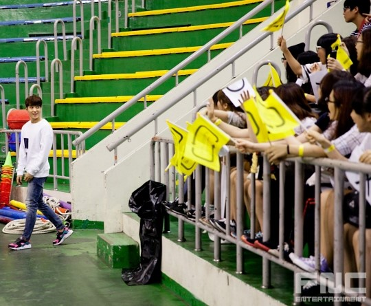 31.08.14 - ftisland athletics pri day 01