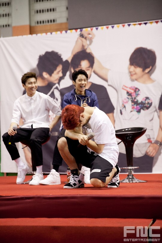 31.08.14 - ftisland athletics pri day 08