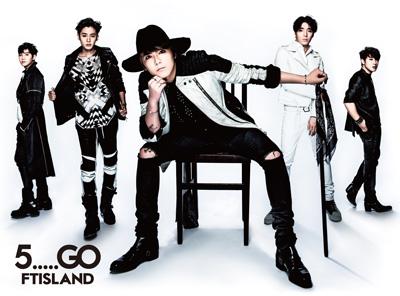 FTISLAND 5 go album cover Edition Limitee A