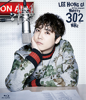 news lee hongki solo concert merry 302MHz bluray primadonna version jaquette