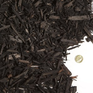 Charcoal Coloured Mulch