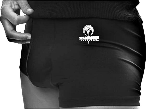 Stand to Pee packing underwear is designed to not only keep your packer safe, but also to enable you to pee while standing