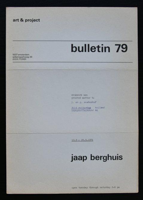 berghuis bulletin 79 a