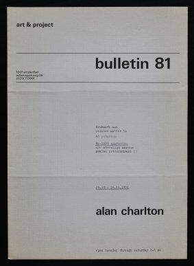 charlton bulletin 81