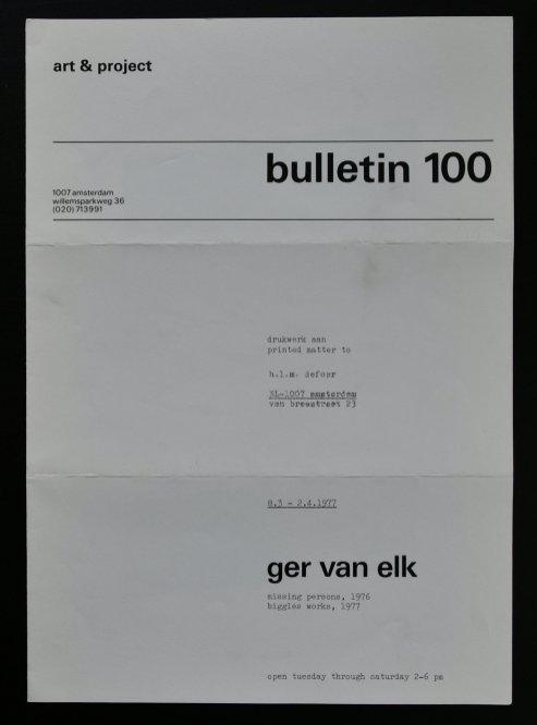 elk bulletin 100 a