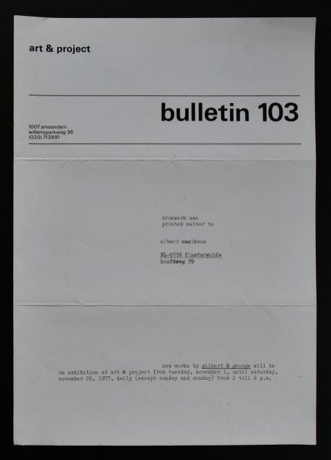 elk bulletin 103 a