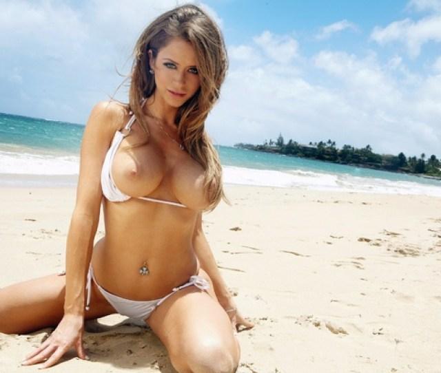 Emily Addison Hot Babe Bikini Breasts Tits Boobs Big