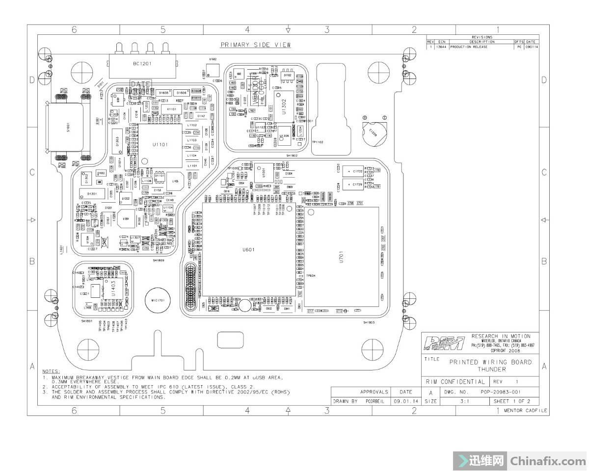 Blackberry 9530 Thunder CDMA-迅维网-维修论坛