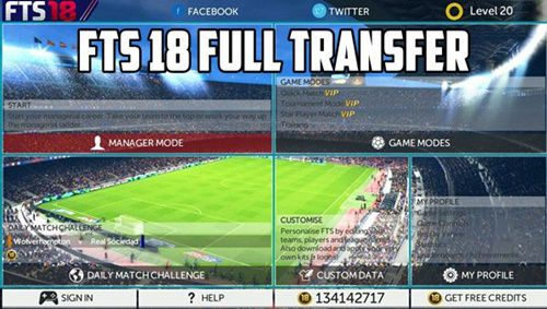 Download FTS 2018 Full Transfer Mod APK for Android