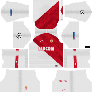AS Monaco FC UCL Home Kit