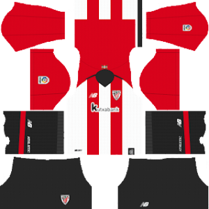 Athletic Bilbao Kits 2018/2019 Dream League Soccer