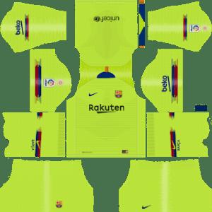 Barcelona Dls Away kit 2019