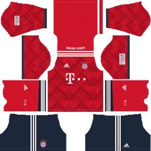 Bayern MunichKits 2018/2019 Dream League Soccer