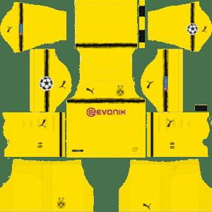 Borussia Dortmund UCL International Kit