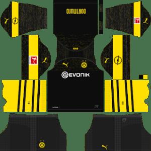 Borussia Dortmund Away Kit 2019